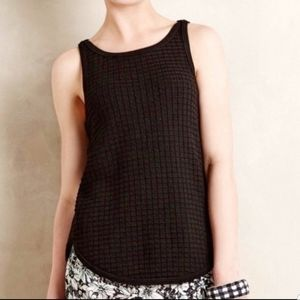Anthropologie MOTH Knit Sweater Tank Top Small